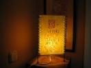 Lampen mit Text